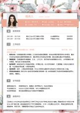财务经理花落3-5年经验简历.docx