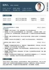 财务高级经理商务5年以上经验简历.docx