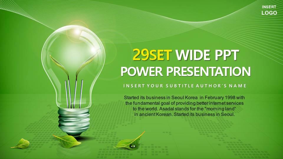 绿色环保能源模板.ppt