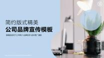 简约版式精美品牌宣传推广公司介绍模板.pptx