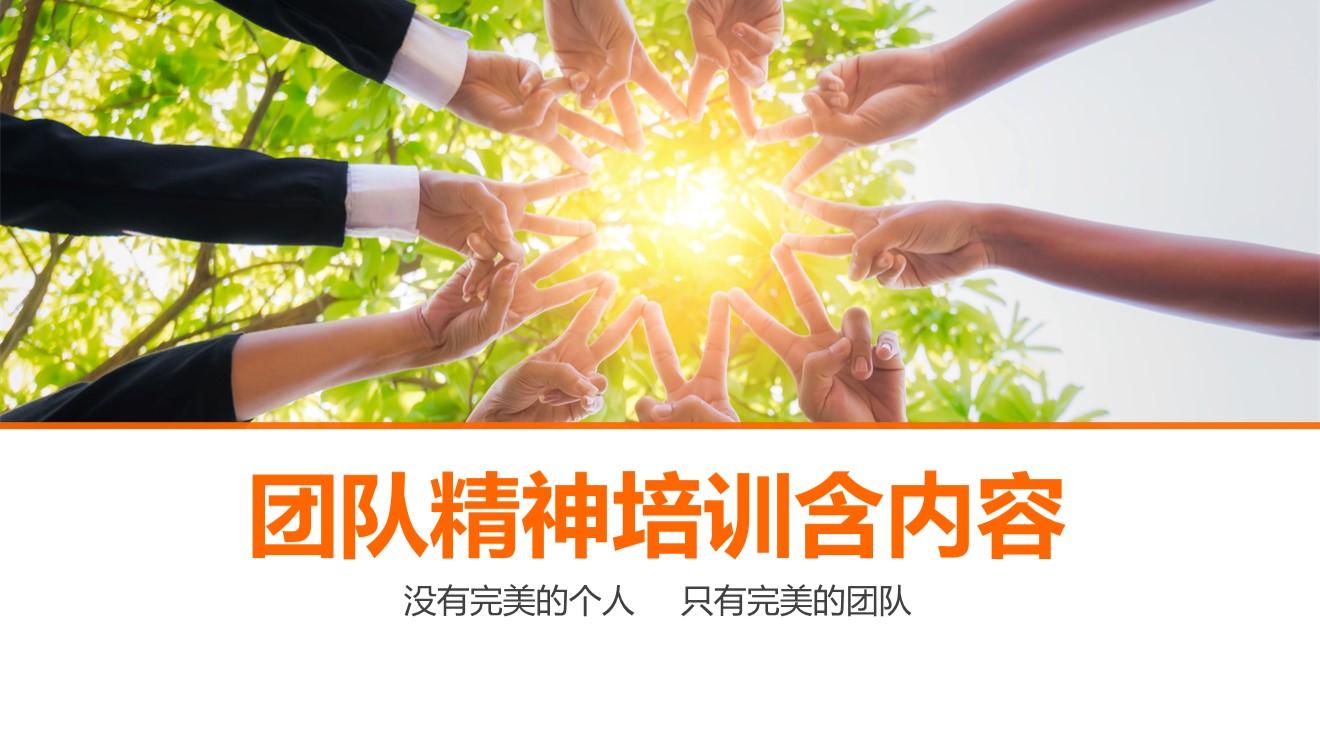 团队团结精神凝聚力培训PPT模板.pptx