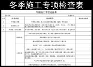 冬期施工专项检查表.xlsx