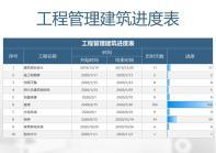工程管理建筑进度表.xlsx