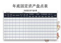 年底固定资产盘点表.xls