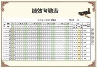 员工绩效考核表.xlsx