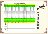 20XX期末考试成绩总表.xlsx