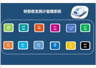 出纳财务多部门账户收支管理系统.xlsm