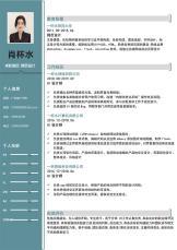 求职简历网页设计简洁模板.docx