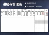 进销存管理表-自动统计.xls
