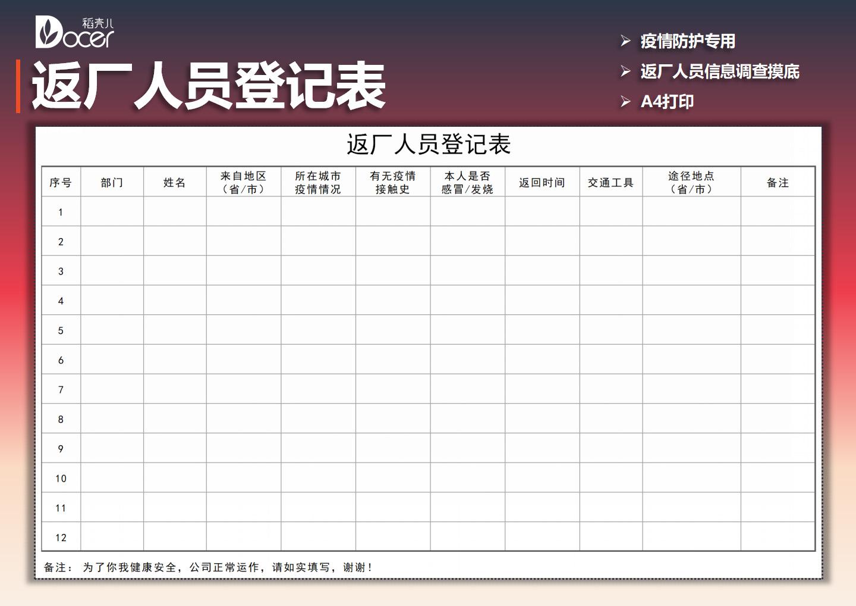 返厂人员登记表.xlsx