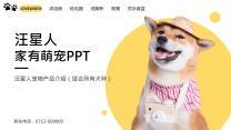 汪星人萌宠产品介绍PPT.pptx