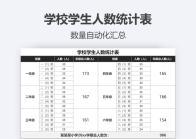学校学生人数统计表.xlsx