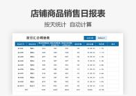 营销运营表格(销售日报表).xlsx