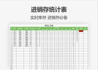 进销存统计表(分部门计算库存).xls
