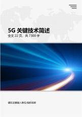 5G网络通讯关键技术简述.docx