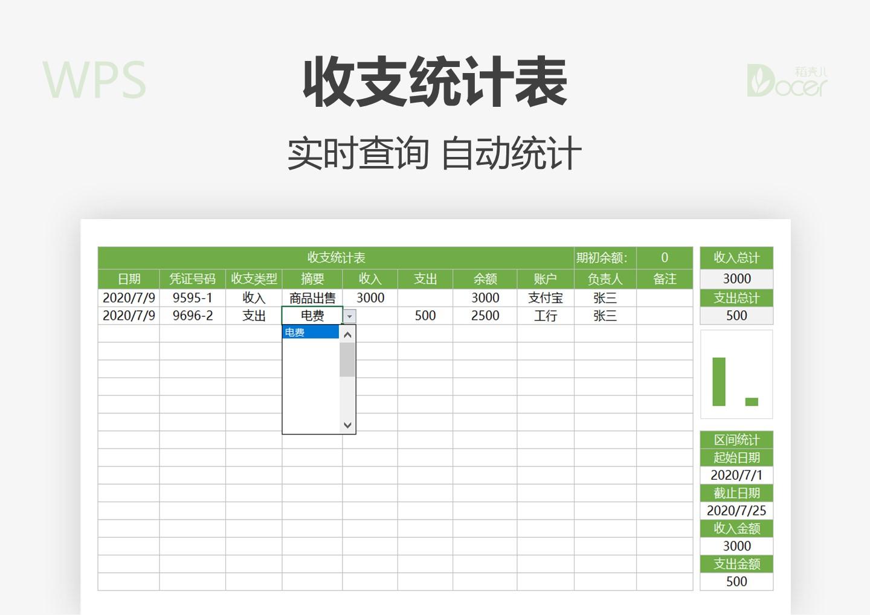 财务收支明细统计表.xlsx