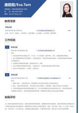 财务主管简洁简历.docx