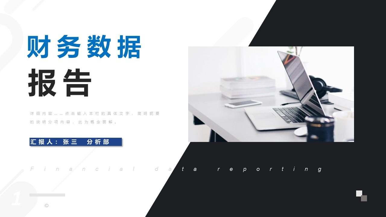 财务会计数据分析报告PPT.pptx