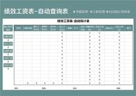 月终绩效工资统计表-自动统计表.xls