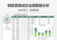 销售管理成交业绩数据分析.xlsx