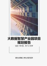 大数据智慧产业园项目规划报告.docx