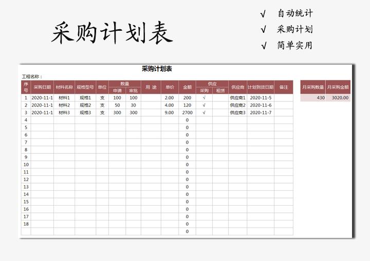 采购计划表.xlsx