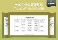 【免费试用】外加工销售管理系统-超级模板.xlsx