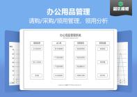 【免费试用】办公用品管理系统-超级模板.xlsx