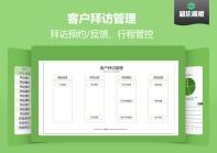 【免费试用】客户拜访管理系统-超级模板.xlsx