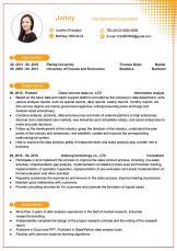 市场分析财务顾问英文求职简历.docx