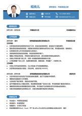 商务简洁风市场渠道类管理岗简历.docx